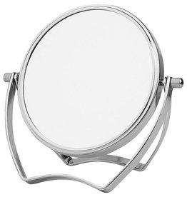 Make-up Beugel spiegel zilver Ø14cm/5x vergroting