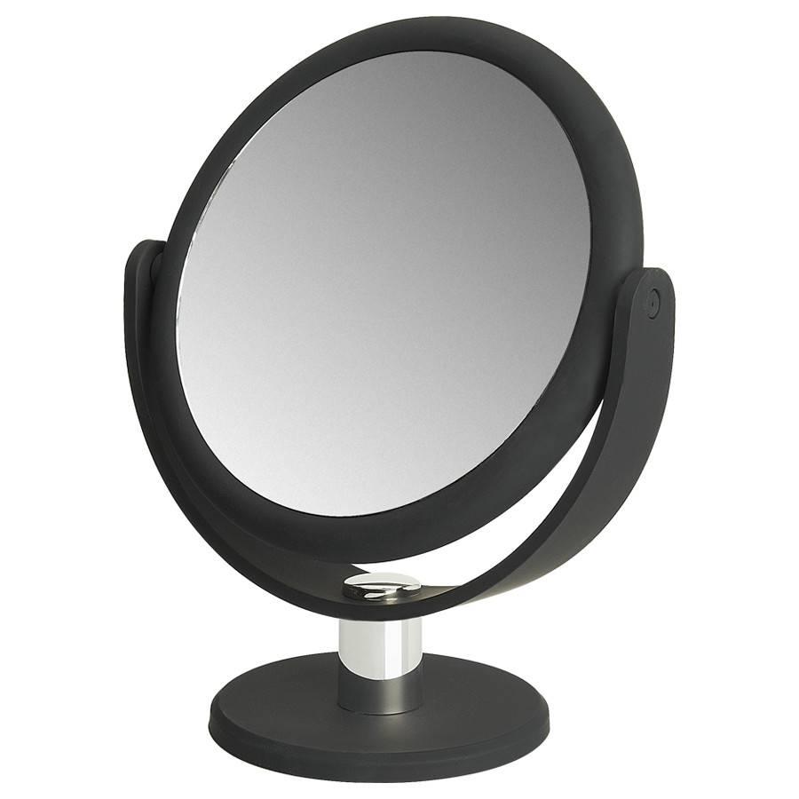 make up spiegel met rubbercoating 14 5cm 5x vergroting. Black Bedroom Furniture Sets. Home Design Ideas