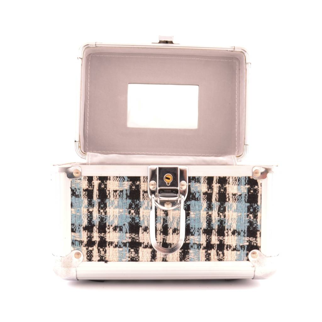 Beautycase Set Ruit 3 stuks- Blauw