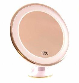 Zuignap Spiegel LED 7x vergroting   Badkamer Spiegel