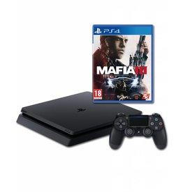 Sony Playstation Sony PlayStation 4 Slim Console 500 GB Zwart met Mafia III