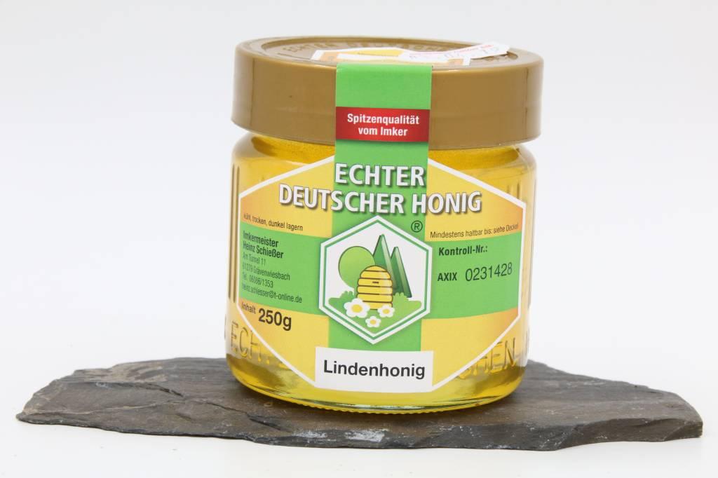 Imkerei Schießer Lindenhonig aus dem Naturpark Hochtaunus, Ernte 2016