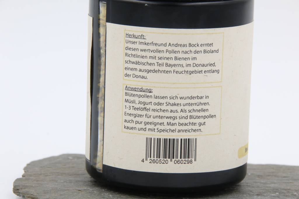 Imkerei Schießer Bee Pollen from Germany, 120g