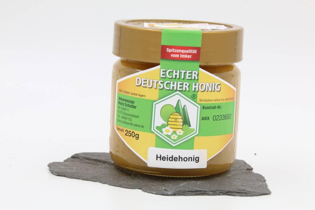 Imkerei Schießer Heidehonig aus der Lüneburger Heide