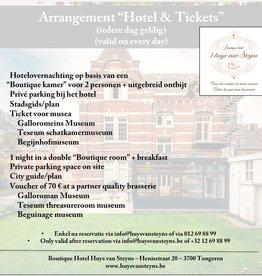 Hotel & Tickets