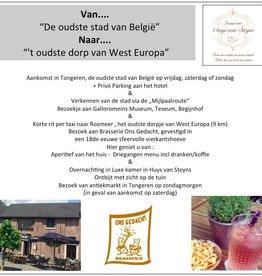 Van Oudste stad van Belgie naar oudste dorpje van West-Europa