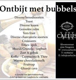 Ontbijt met bubbels (zonder overnachting)