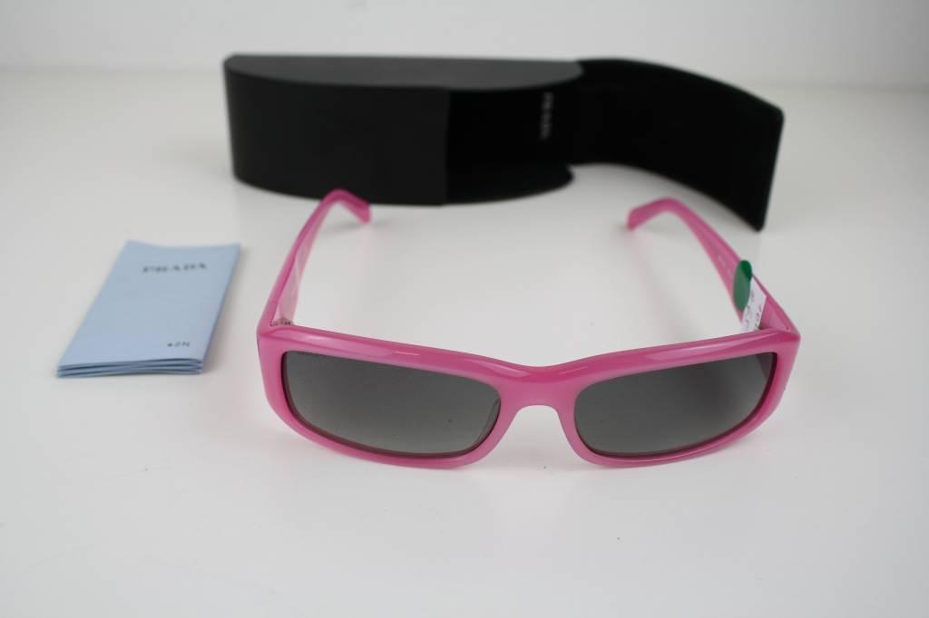 prada sonnenbrille von prada neu mit pinkem gestell. Black Bedroom Furniture Sets. Home Design Ideas
