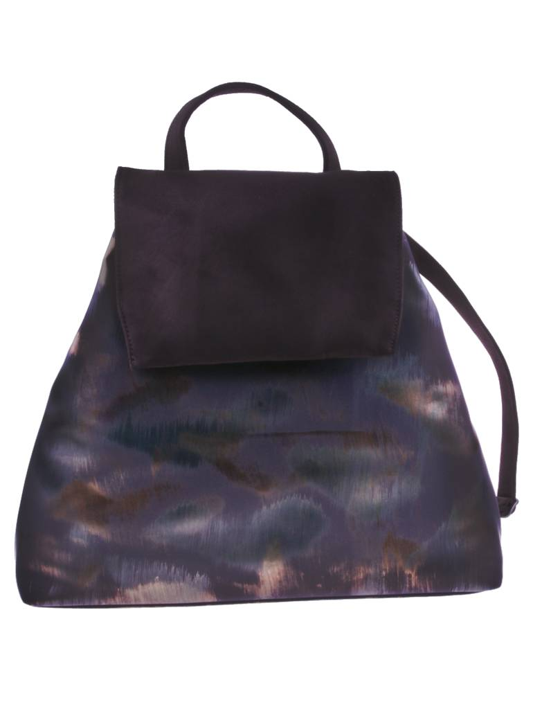 PRETTY&FAIR Brown combat backpack - vegan - BAG 4705-V