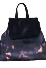PRETTY&FAIR Black combat backpack - vegan - BAG 4705-V