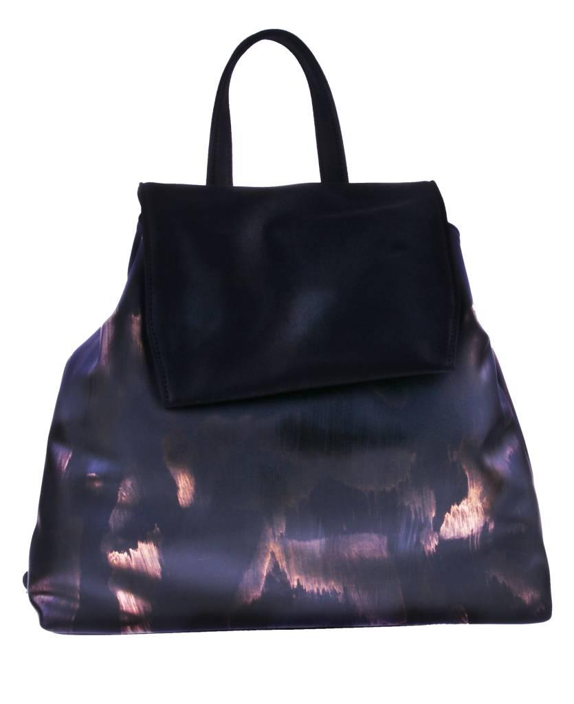 PRETTY&FAIR Zwart combat backpack - vegan - BAG 4705-V
