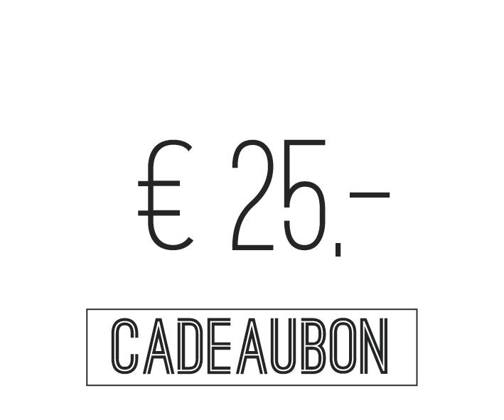Gift card €25,-