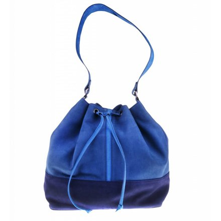 Blue shoulder bag - BAG 2210
