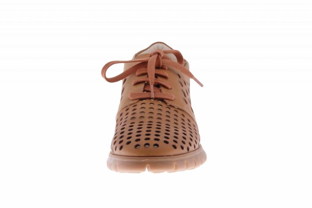 PRETTY&FAIR Cognac sneaker - vegan -  Dalia Cognac - PF2010-V