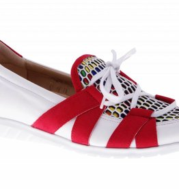 Colorful red slip on's - vegan -PF2007-V