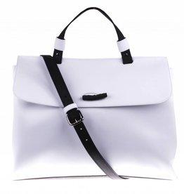 White shoulder bag - vegan - BAG 2234-V