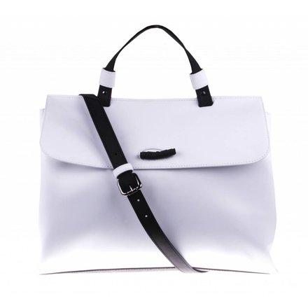 Witte schoudertas - vegan - BAG 2234-V