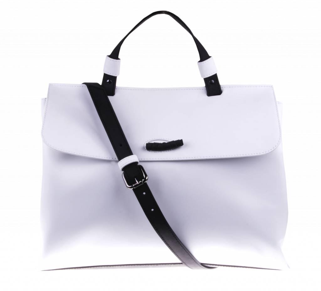 PRETTY&FAIR Witte schoudertas - vegan - BAG 2234-V