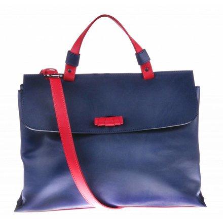Donkerblauwe schoudertas - BAG 2234
