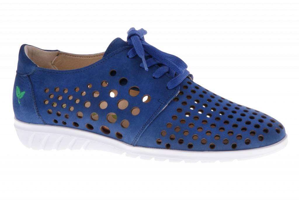 Blauwe sneaker - Nobuck Jeans - PF2010 from PRETTY&FAIR