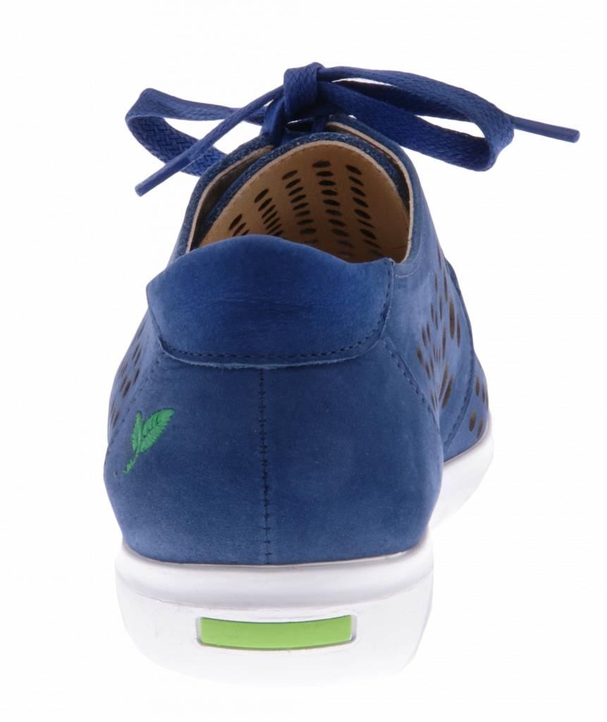 PRETTY&FAIR Blauwe sneaker - Nobuck Jeans - PF2010