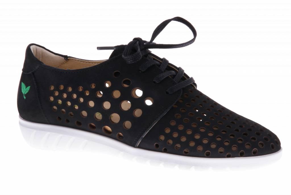 Zwarte sneaker - Nobuck Black - PF2010 from PRETTY&FAIR