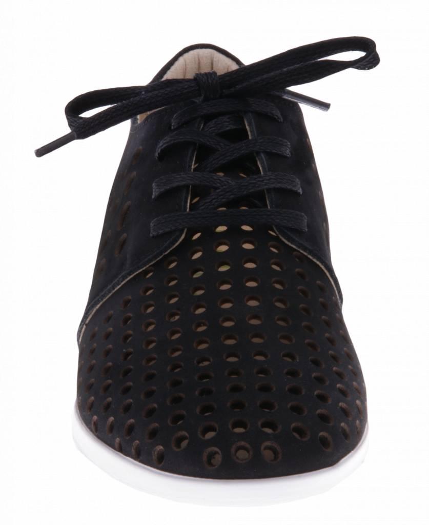 PRETTY&FAIR Black sneakers - Nobuck Black - PF2010
