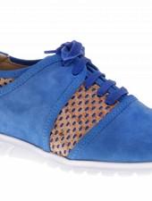 Blauwe sneakers met kurk - PF2003