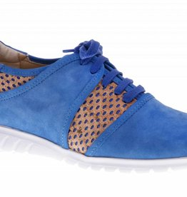 Blue sneakers with cork - PF2003