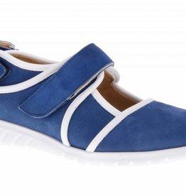 Blue velcro shoes - PF2002