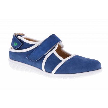Blauwe klittenband schoen - PF2002