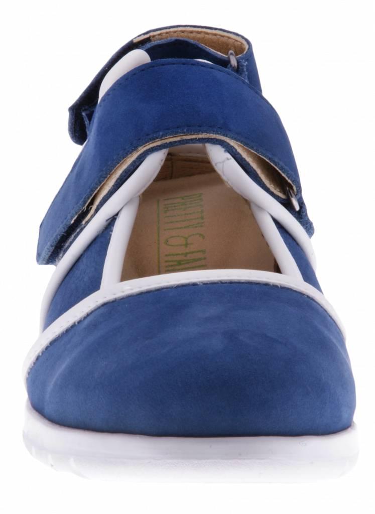 PF2002 Nobuck Jeans - Nappa White