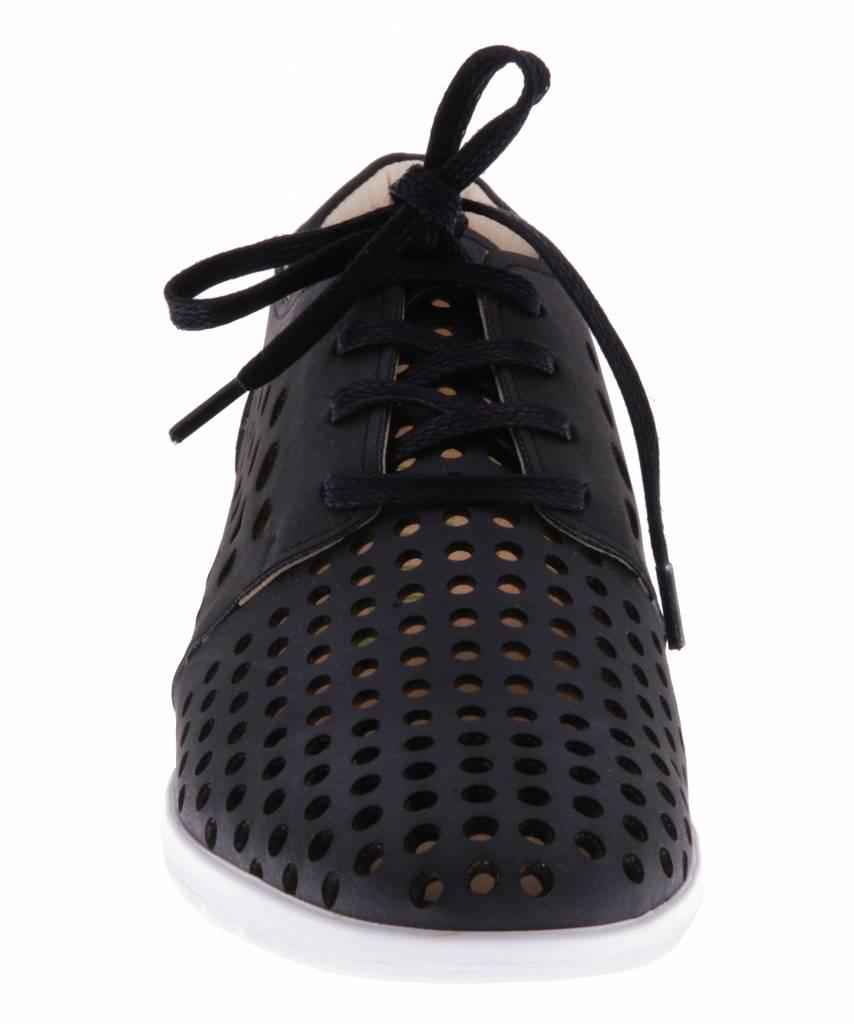 PRETTY&FAIR Zwarte sneaker - vegan -  Dalia Black - PF2010-V