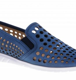 Blue slip on's - vegan - PF2009-V