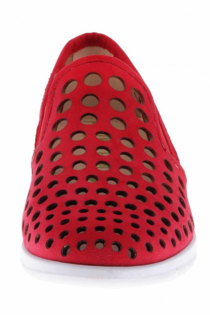 PF2009-V Nobuck Red