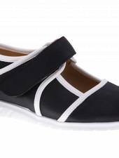 Black velcro shoe - vegan - PF2002-V