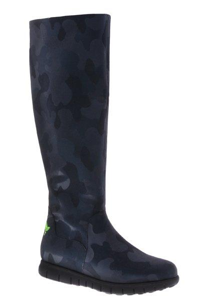 PRETTY&FAIR Classic high boot- vegan - Fantasy Blue - PF3004-V