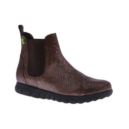 Metallic Chelsea boot - vegan - PF3006-V