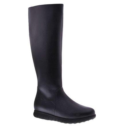 Cool high black boots - vegan - PF3004-V