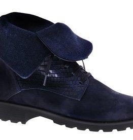 Blauwe unieke enkellaars - PF3008