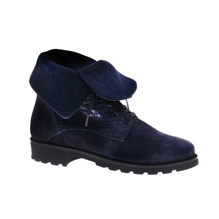 Blue unique ankle booty - PF3008