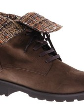 Brown fashionable ankle booty - PF3008