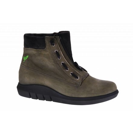 Olive ankle booty - PF3007