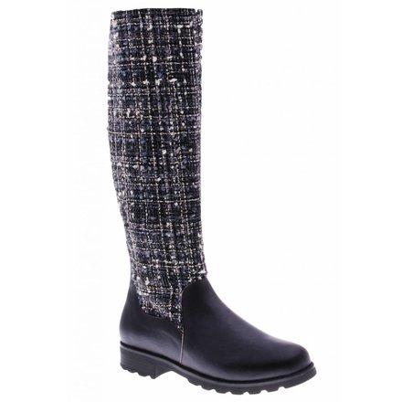 Classic high black boot - PF3004