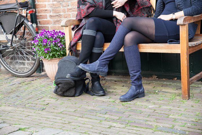 PRETTY&FAIR Backpack Grey Velt - Nobuck Black
