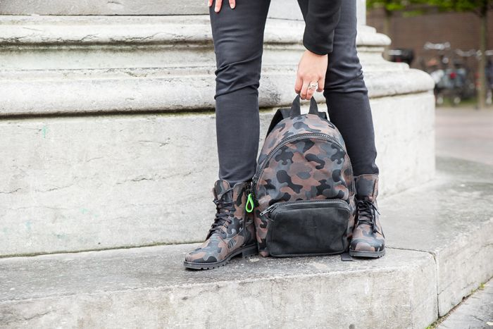 PRETTY&FAIR Bruine fantasy backpack - Fantasy brown