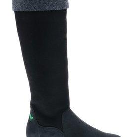 High black/grey boot - vegan - PF3012-V