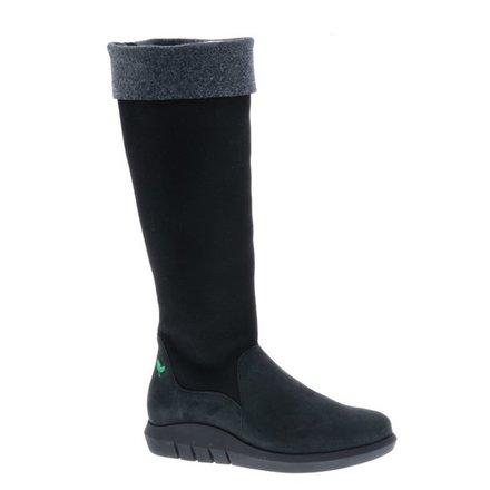 Hoge zwart/grijze laars - vegan - PF3012-V - Nieuwe Collectie