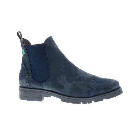 Blue Combat Chelsea boots - vegan - PF3006-V
