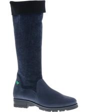 Hoge blauw/zwarte laars - PF3012 - Nieuwe Collectie